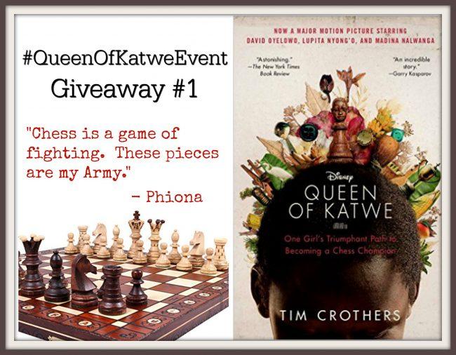 Amazing Queen of Katwe Giveaway #QueenofKatweEvent