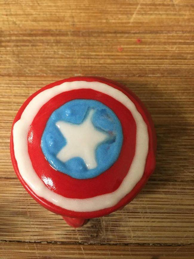 Captain America Shield Oreos Recipe